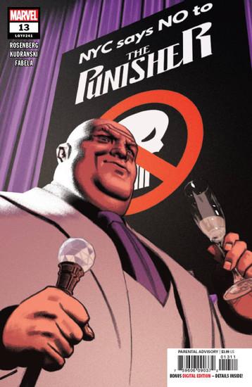 Marvel Comics The Punisher #13 Comic Book