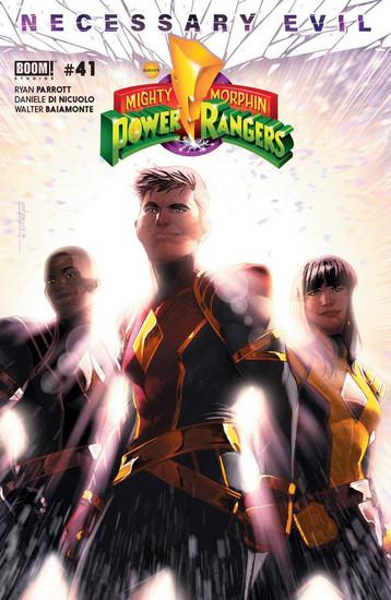 Boom Studios Mighty Morphin Power Rangers #41 Necessary Evil Comic Book