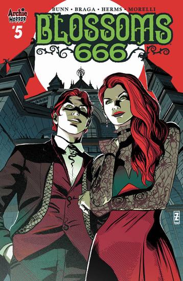 Archie Comic Publications Blossoms 666 #5 of 5 Comic Book [Patrick Zircher Variant Cover C]