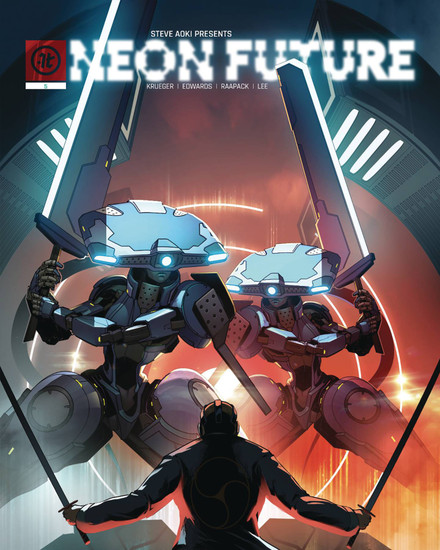 Impact Theory Neon Future #5 of 6 Comic Book [Jheremy Raapack Variant Cover B]