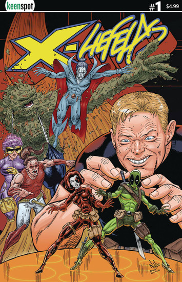 Keenspot Entertainment X-Liefelds #1 Comic Book