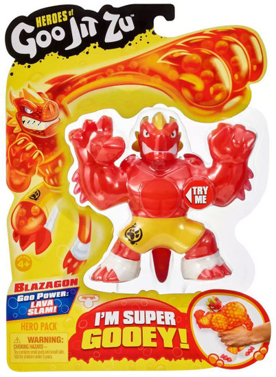 Heroes of Goo Jit Zu Blazagon Action Figure [Dragon, Version 1]
