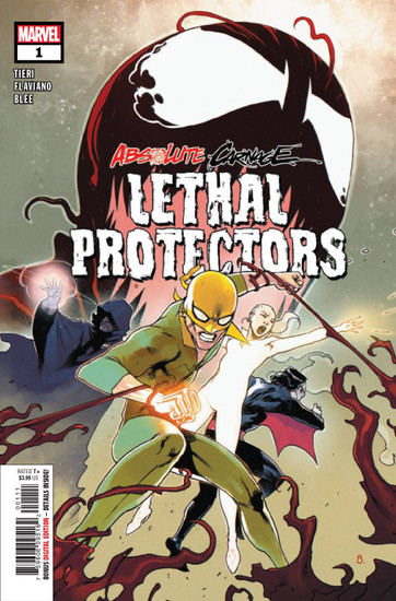 Marvel Comics Absolute Carnage Lethal Protectors #1 Comic Book