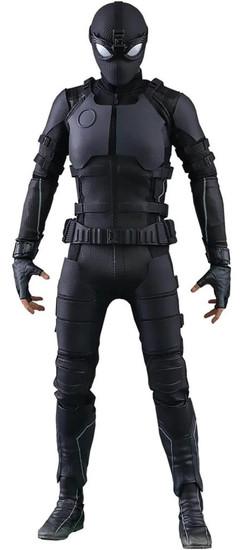 Marvel Spider-Man: Far From Home Movie Masterpiece Spider-Man Stealth Suit Collectible Figure MMS540 [Standard Version]