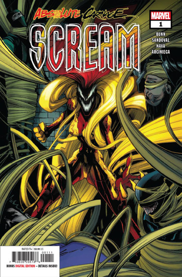 Marvel Comics Absolute Carnage Scream #1 Comic Book