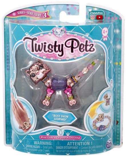 Twisty Petz Series 3 Rosy Snow Leopard Bracelet
