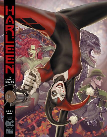 DC Black Label Harleen #1 Comic Book [Stejpan Sejic Variant Cover]