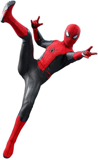 Marvel Spider-Man: Far From Home Movie Masterpiece Spider-Man Upgraded Suit Collectible Figure MMS540 (Pre-Order ships July)