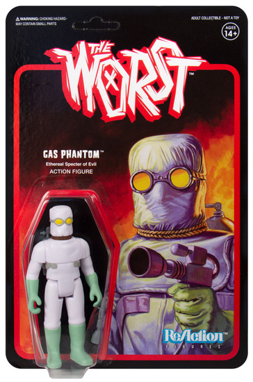 ReAction The Worst Gas Phantom Action Figure [Wide Release Color]