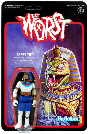 ReAction The Worst Snake Tut Action Figure [Wide Release Colors]