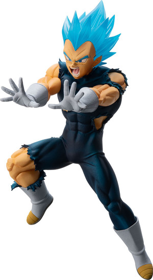 Dragon Ball Ichiban Super Saiyan God SS Vegeta 5.1-Inch Collectible PVC Figure