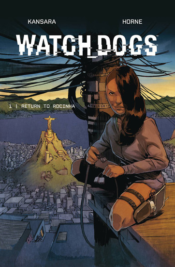 Titan Comics Watch Dogs #1 Comic Book [Horne Variant Cover]