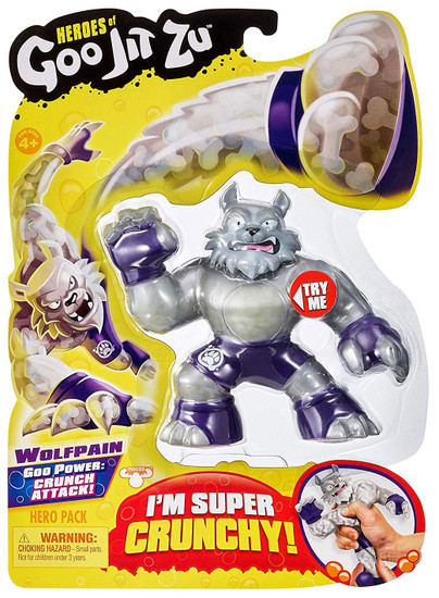 Heroes of Goo Jit Zu Wolfpain Action Figure [Wolf]