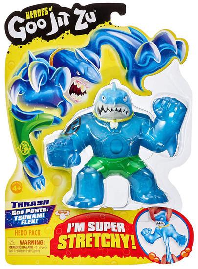 Heroes of Goo Jit Zu Thrash Action Figure [Shark, Version 1 (Green Shorts)]