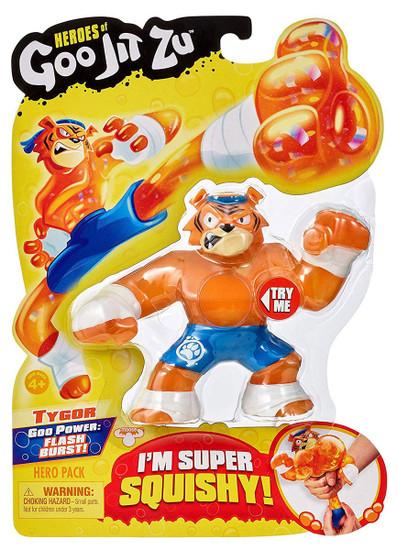 Heroes of Goo Jit Zu Tygor Action Figure [Tiger]