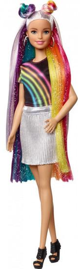 Barbie 13.25-Inch Doll [Rainbow Sparkle Hair]