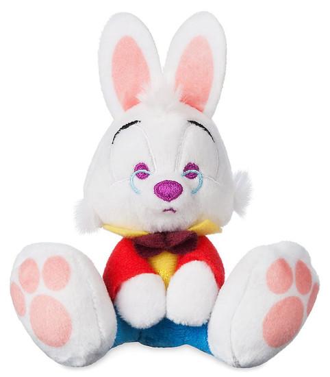 Disney Alice in Wonderland Tiny Big Feet White Rabbit Exclusive 4-Inch Micro Plush