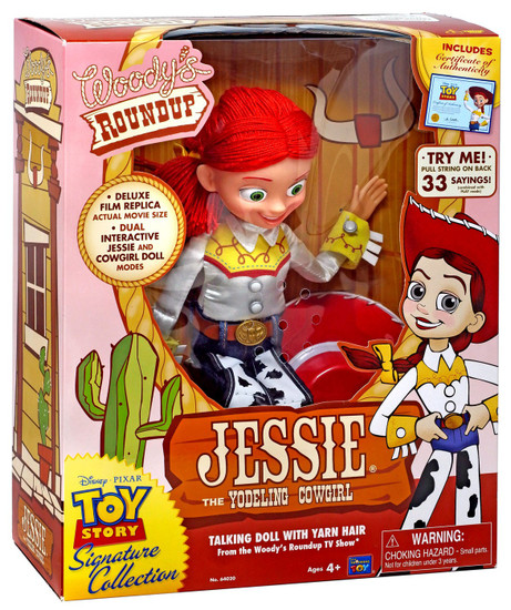 Toy Story Signature Collection Jessie Exclusive 14-Inch Plush with Sound [The Yodeling Cowgirl]