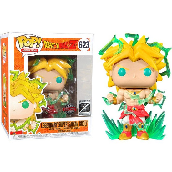 Funko Dragon Ball Z POP! Animation Broly Exclusive 6-Inch Vinyl Figure #623 [Super-Sized]
