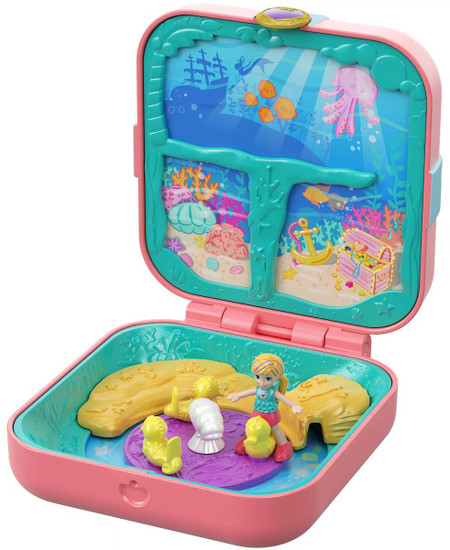 Polly Pocket Hidden Hideouts Mermaid Cove Playset