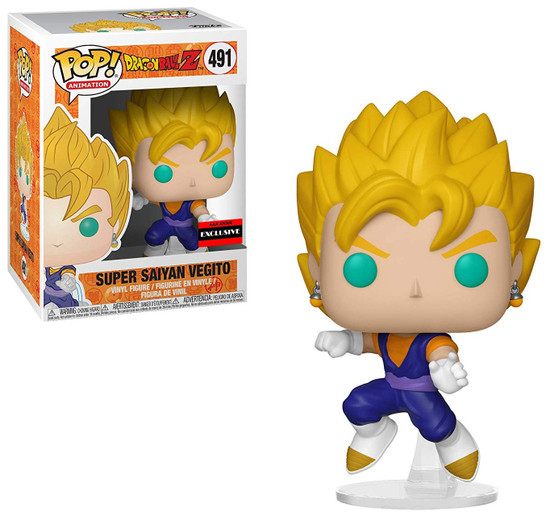 Funko Dragon Ball Z POP! Animation Super Saiyan Vegito Exclusive Vinyl Figure #491