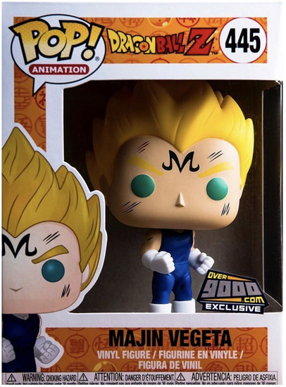Funko Dragon Ball Z POP! Animation Majin Vegeta Exclusive Vinyl Figure #445