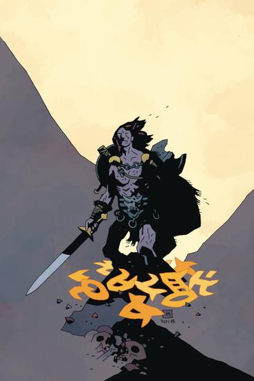 Dark Horse Berserker Unbound #1 of 4 Comic Book [Mike Deodato Variant Cover B]