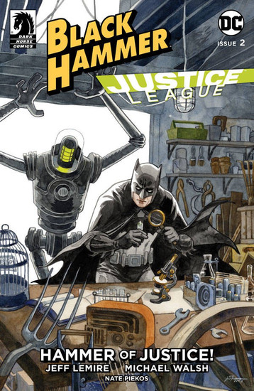 Dark Horse / DC Comics Black Hammer Justice League #2 of 5 Comic Book [Jill Thompson Variant Cover B]