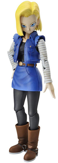 Dragon Ball Figure-Rise Standard Android 18 6.1-Inch Model Kit Figure [New Package Version]
