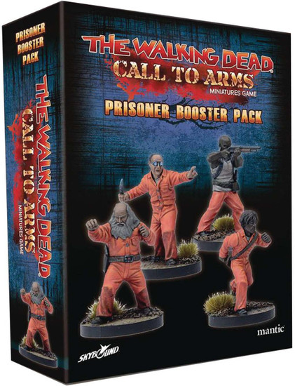 The Walking Dead Walking Dead Call to Arms Miniature Game Prisoner Booster Pack