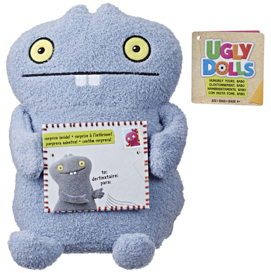 Ugly Dolls Hungrily Yours, Babo 9-Inch Plush