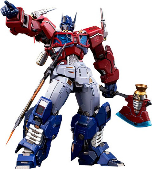 "Transformers Kuro Kara Kuri Optimus Prime 8.3"" Action Figure #04"