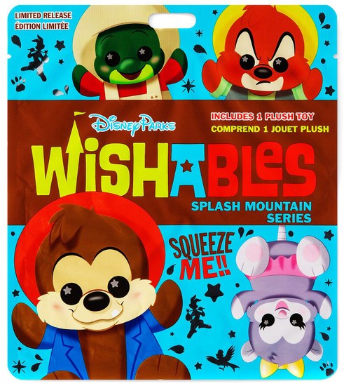 Disney Wishables Splash Mountain Exclusive 5-Inch Micro Plush Mystery Pack [1 RANDOM Figure]