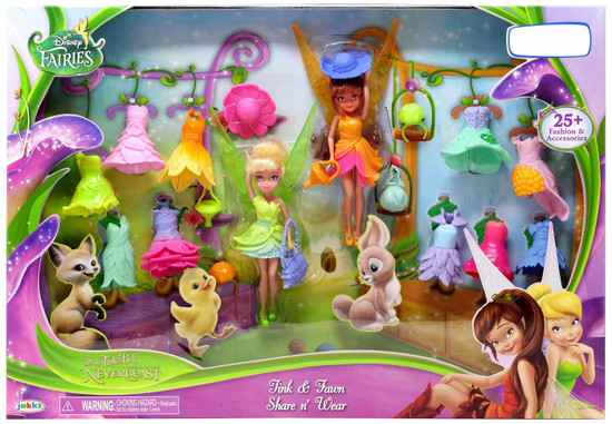 Disney Fairies Tinker Bell and the Legend of the NeverBeast Tink & Fawn Share n' Wear Exclusive