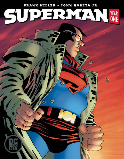 DC Black Label Superman Year One #2 of 3 Comic Book [Frank Miller Cover]