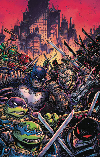 DC Batman / Teenage Mutant Ninja Turtles III #4 of 6 Comic Book [Kevin Eastman Variant Cover]