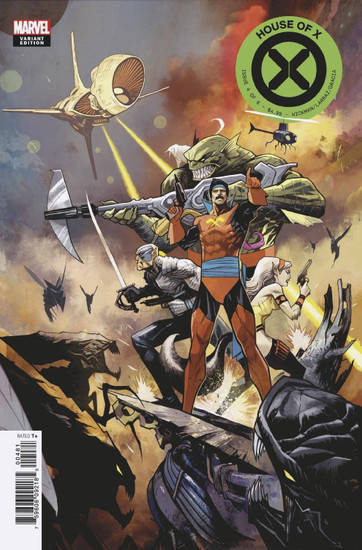 Marvel Comics House of X #4 Comic Book [Huddleston Variant Cover]