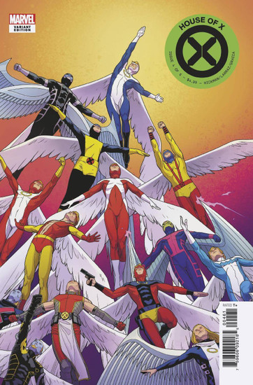 Marvel Comics House of X #4 Comic Book [Character Decades Variant Cover]