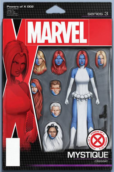 Marvel Comics Powers of X #2 Comic Book [Christopher Action Figure Variant Cover]