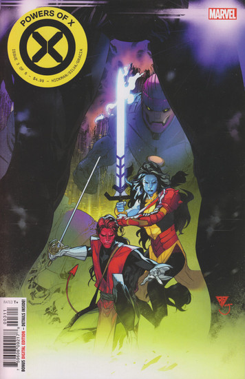 Marvel Comics Powers of X #3 Comic Book