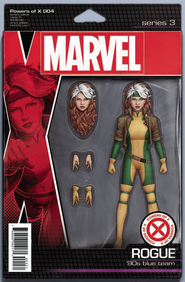 Marvel Comics Powers of X #4 Comic Book [Christopher Action Figure Variant Cover]