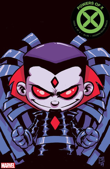 Marvel Comics Powers of X #4 Comic Book [Young Variant Cover]