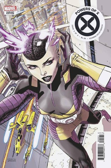 Marvel Comics Powers of X #5 Comic Book [New Character Variant Cover]