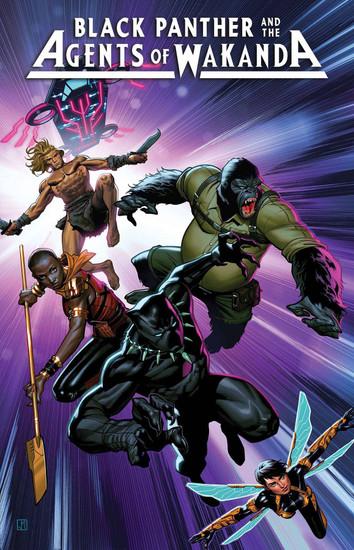 Marvel Comics Black Panther and Agents of Wakanda #1 Comic Book