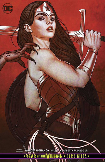 DC Wonder Woman #76 Comic Book [Jenny Frison Variant Cover]