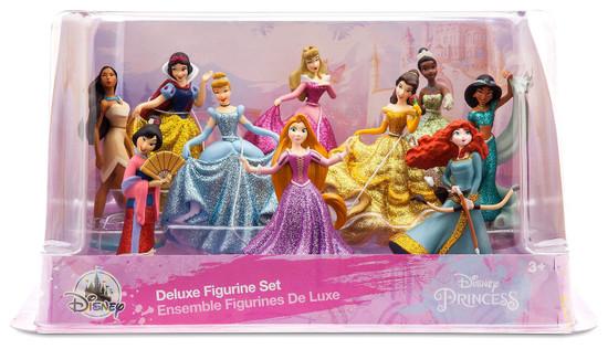 Disney Princess Exclusive 10-Piece PVC Figure Play Set
