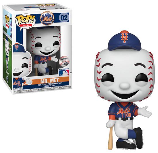 Funko MLB New York Mets POP! Baseball Mr. Met Vinyl Figure [Mascot, Damaged Package]