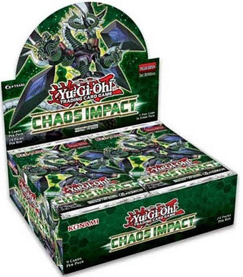YuGiOh Trading Card Game Chaos Impact Booster Box [24 Packs]