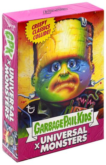 Garbage Pail Kids X Universal Monsters Trading Card Wax Box [24 Packs]