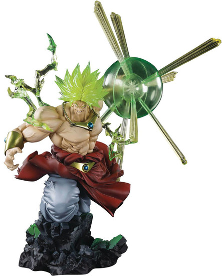 Dragon Ball Z Figuarts ZERO Super Saiyan Broly 12.6-Inch Statue [The Burning Battles, Damaged Package]